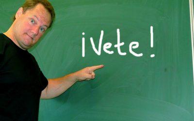 Hat jel, aminél menekülj a spanyol nyelvtanfolyam közeléből is